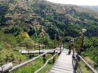 Mysterious Swinging Bridge: New and Old Khndzoresk
