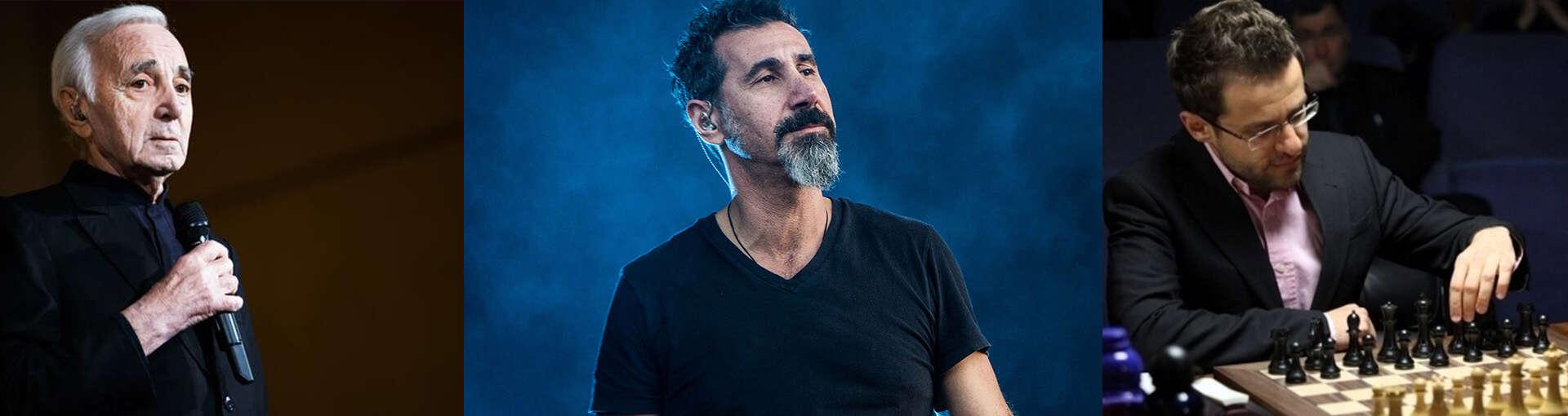 10 most famous Armenian men