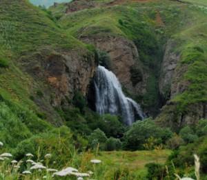 Водопад Трчкан: прыжок с высоты