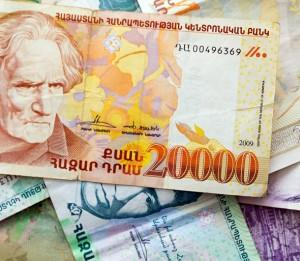 Армянские деньги: драм