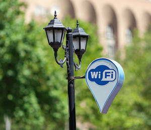 Free WiFi in Yerevan