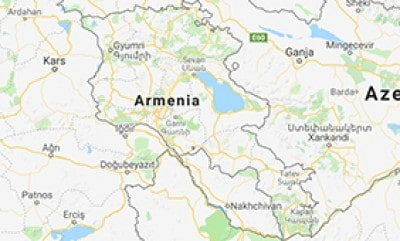 Map of Armenia: Beautiful Girl