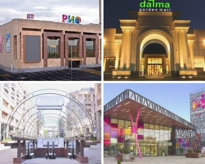 Shopping Malls in Yerevan