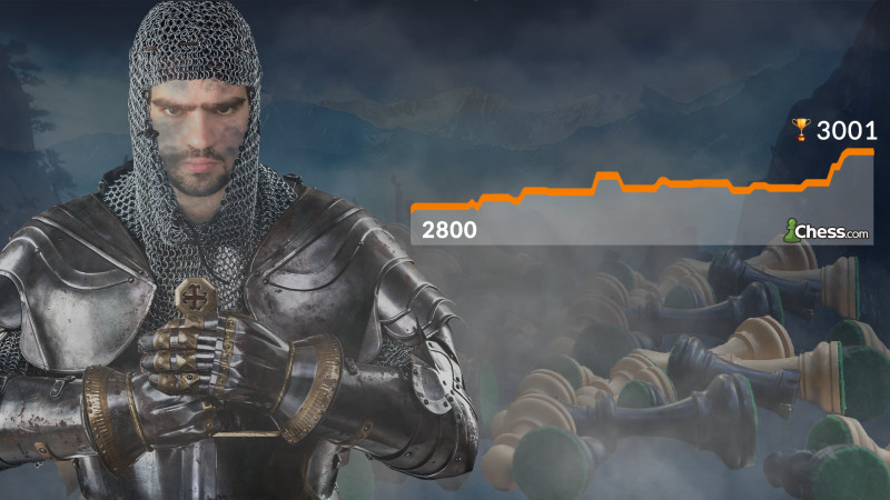 Crossing the Plateau and Reaching 3000 on Chess.com