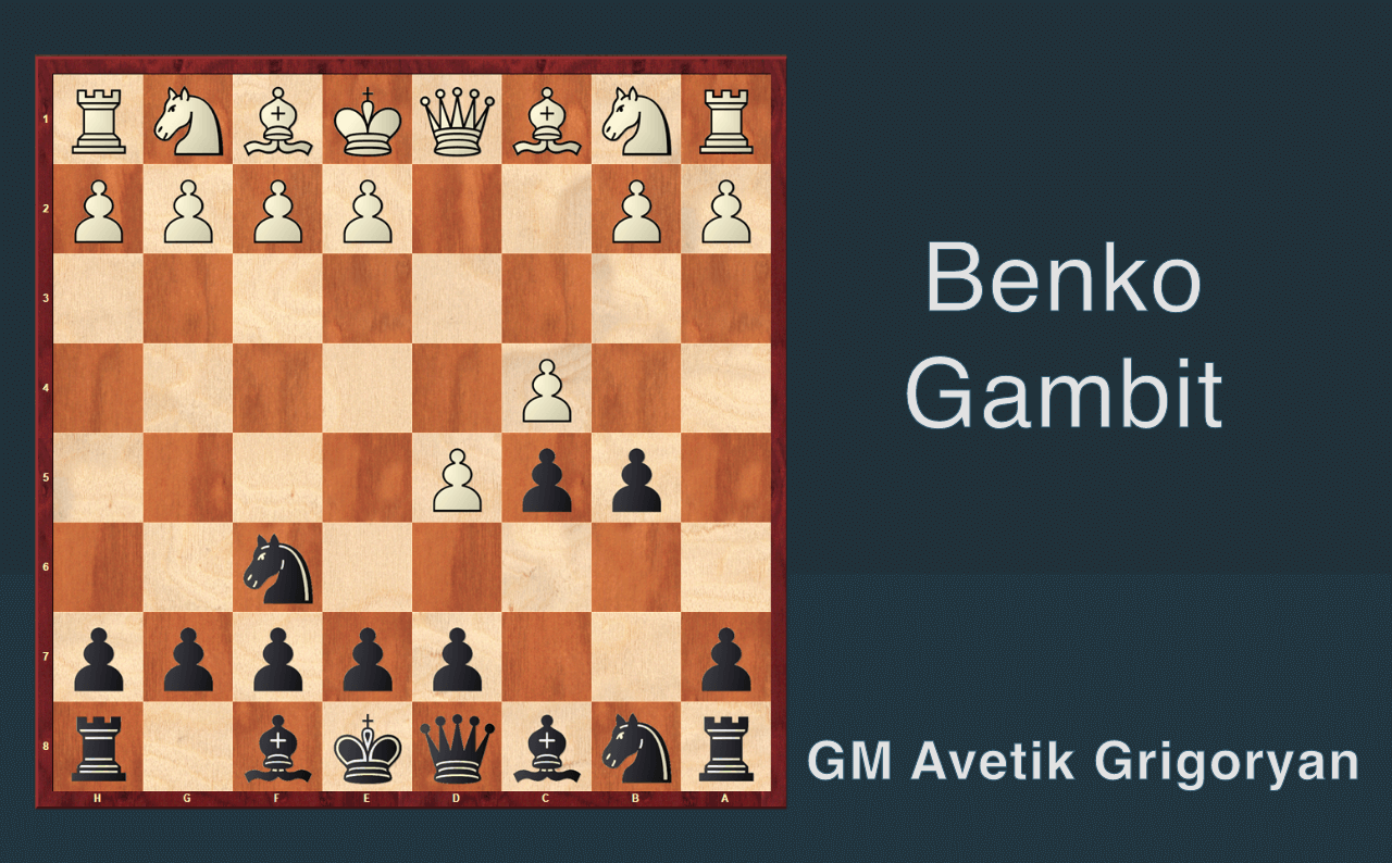 4. Benko Gambit