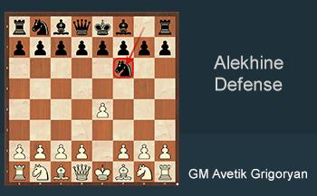 16. Alekhine Defense