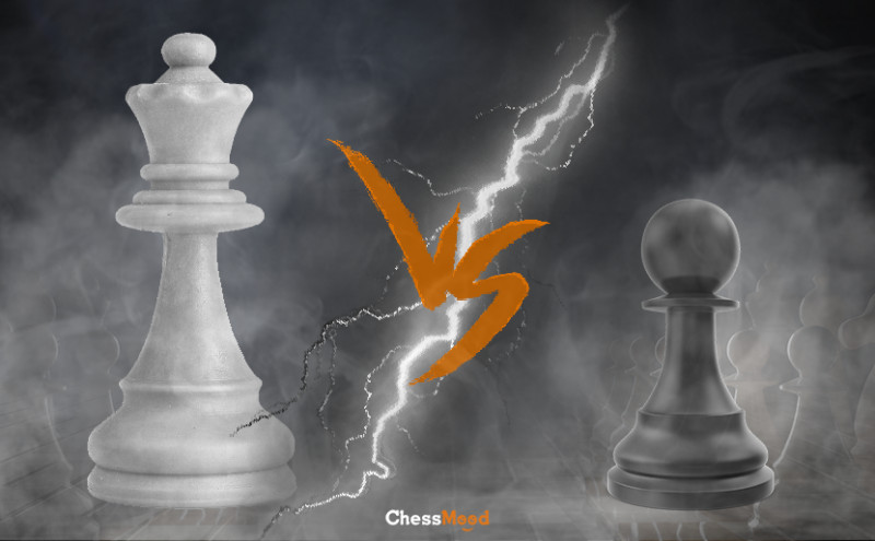 Queen vs Pawns