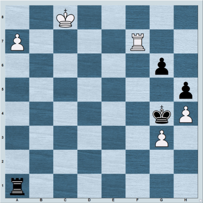 A Rook Endgame Position