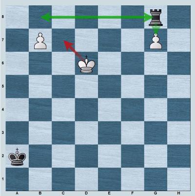 Black plays 2...Rg8!