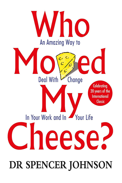 The Photo of Who moved my cheese, the book of Spencer Johnson, which will also help to handle a painful blunder in chess