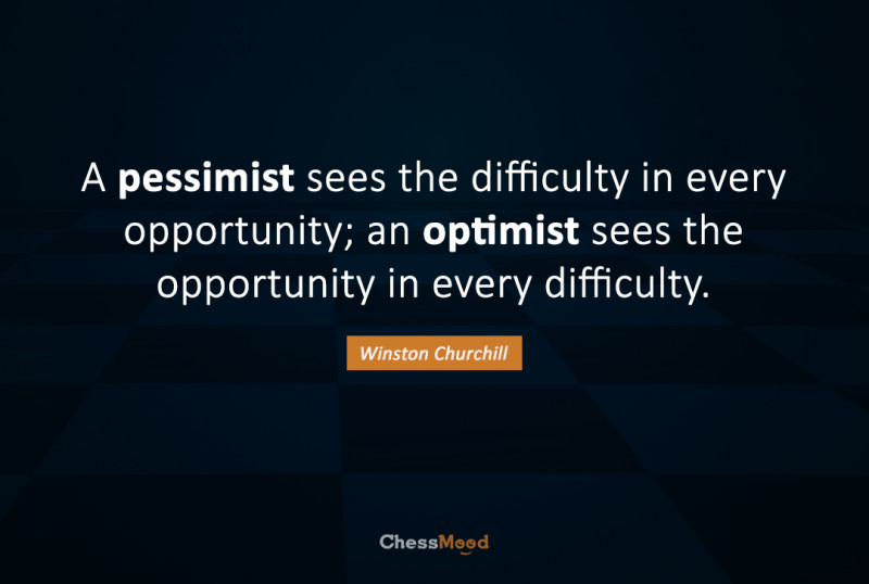 Opportunity means diffuculty: Winston Churchill advise