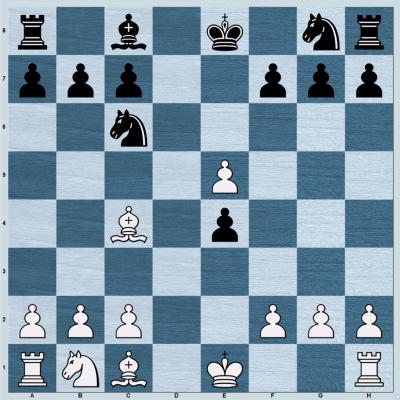 Elephant Gambit main refutation position
