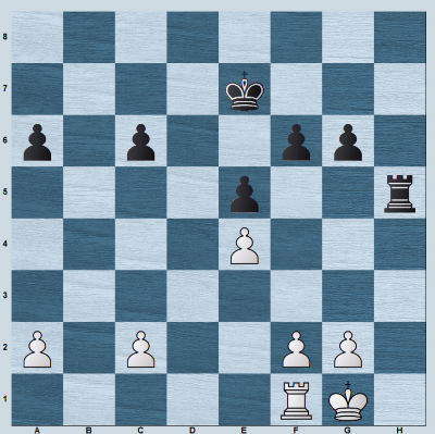 Position without the b-pawns