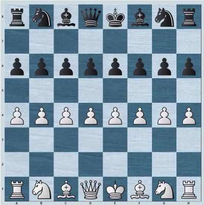 Position where White has extra space