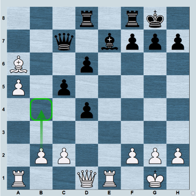White wants to ruin Black's pawn structure, and after 20...cb4 to secure a good square for their bishop on d3!