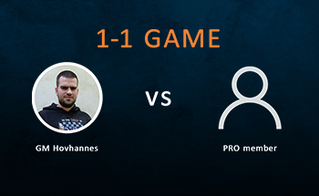 Play 1-1 Games with GM Gabuzyan Hovhannes